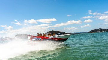 Jet Boat Ride Bay of Islands