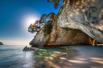 Cathedral Cove Boat Tour in the Coromandel