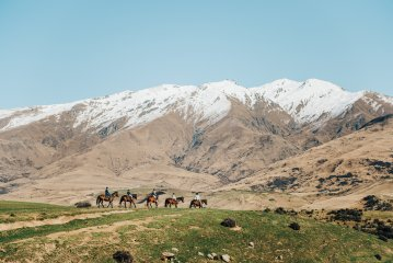 The Gold Discovery Trail Horse Trek Activity in Wanaka